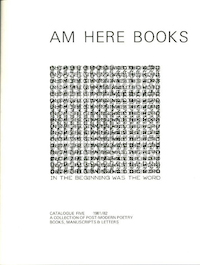 Am Here Books Catalogue #5