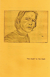 Tom Clark pamphlet, front