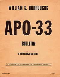 APO-33, Beach Books, 1968, Front Cover