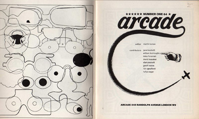 Arcade 1, Title Page