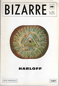bizarre magazine, 1963, cover