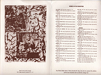 william burroughs exhibit catalogue, tony shafrazi gallery, 1988, list of works