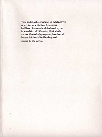 Michael McClure, Dark Brown, 1961