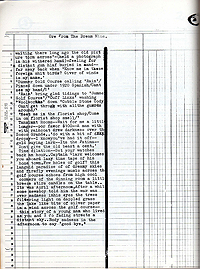 Bulletin from Nothing 2, William Burroughs