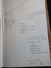 Annotations in Eric Havelock's Preface to Plato