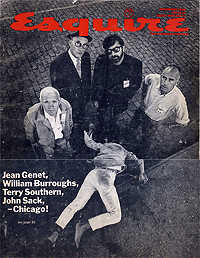 William S. Burroughs on the cover of Esquire, November 1968