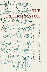 William S. Burroughs, The Exterminator, Auerhahn Press, 1960, front cover
