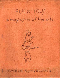 Fuck You, A Magazine of the Arts, Volume 5, Number 2 (Dec 1962)