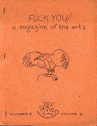 Fuck You, A Magazine of the Arts, Volume 5, Number 3 (May 1963)