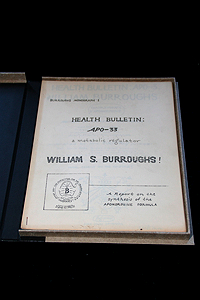 William S. Burroughs, Health Bulletin: APO-33, a Metabolic Regulator (1965)