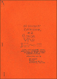 Ed Sanders' Catalogue 2