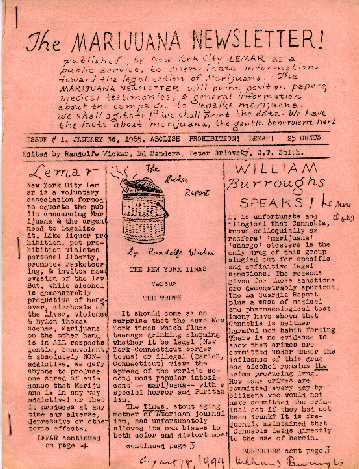 William S. Burroughs Fuck_you_press.marijuana_newsletter
