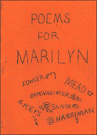 Poems for Marilyn