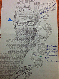 My Own Mag #5 Inscribed by William Burroughs to Jonathan Williams
