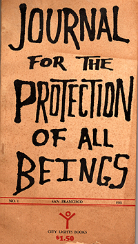 Journal for the Protection of All Beings