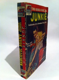 William S. Burroughs, Junkie, Ace Double, 1953, spine