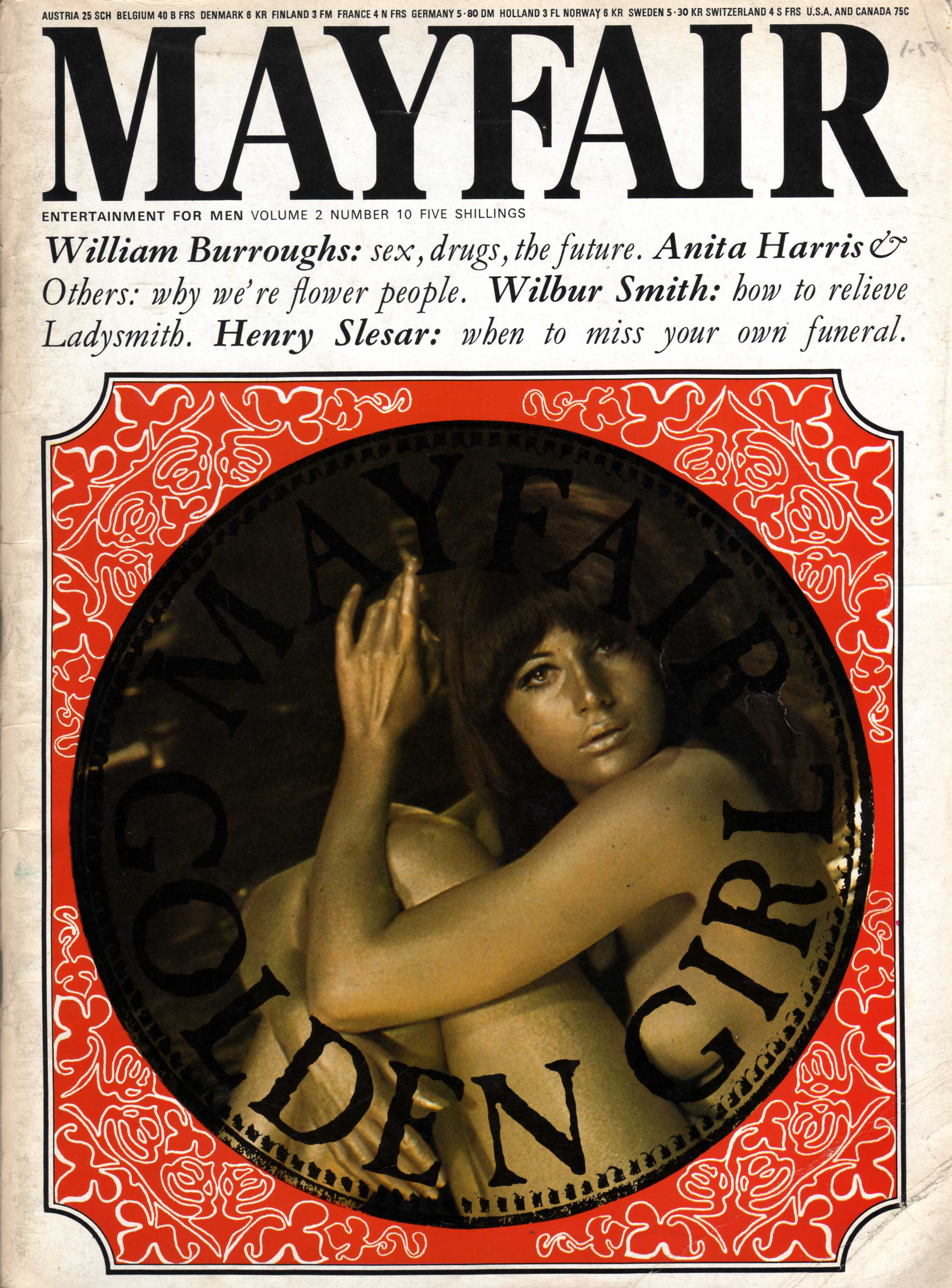 MAYFAIR vol. 51 No.12 UK Men's Magazine Mint , sexy Chesty Risque Fun / j3