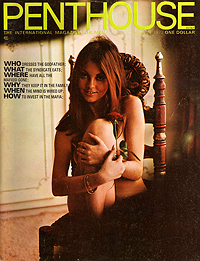 Penthouse, March 1972, containing Graham Masterton's interview of William S. Burroughs