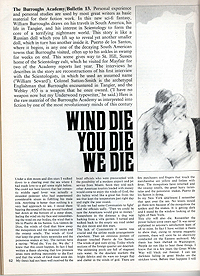 Wind Die You Die We Die