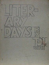 Literary Days cover