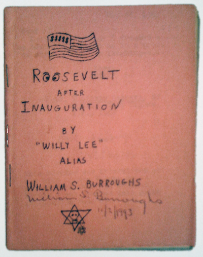 William S. Burroughs, Roosevelt after Inauguration