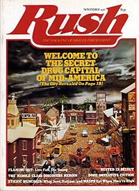 Rush, November 1976, front cover