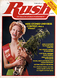 Rush, February 1977, front cover