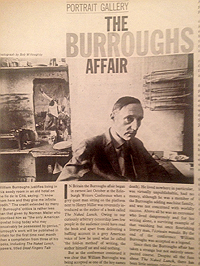 The Sunday Times, 3 February 1963, article on William S. Burroughs