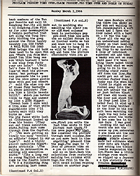 William S. Burroughs, Time, Page 3, C Press, 1965