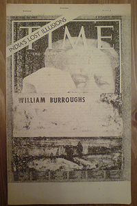 BOOTLEG copy of William S. Burroughs' Time