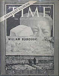 William S. Burroughs, Time, cover