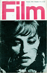 Film, Autumn 1963, cover
