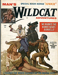 Man's Wildcat Adventures, June 1959