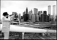 William Burroughs shooting the World Trade Center