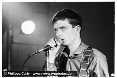 Philippe Carly, Ian Curtis at Plan K, 16 October 1979