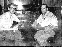 Lewis Marker with William Burroughs