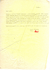 Letter, Carl Weissner to Jeff Nuttall, 14 February 1966