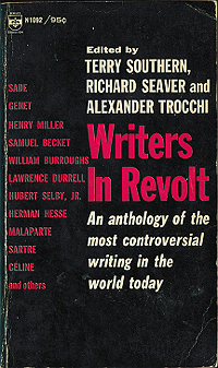 Writers in Revolt, 1965, front