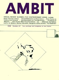 Ambit 27, Spring 1966