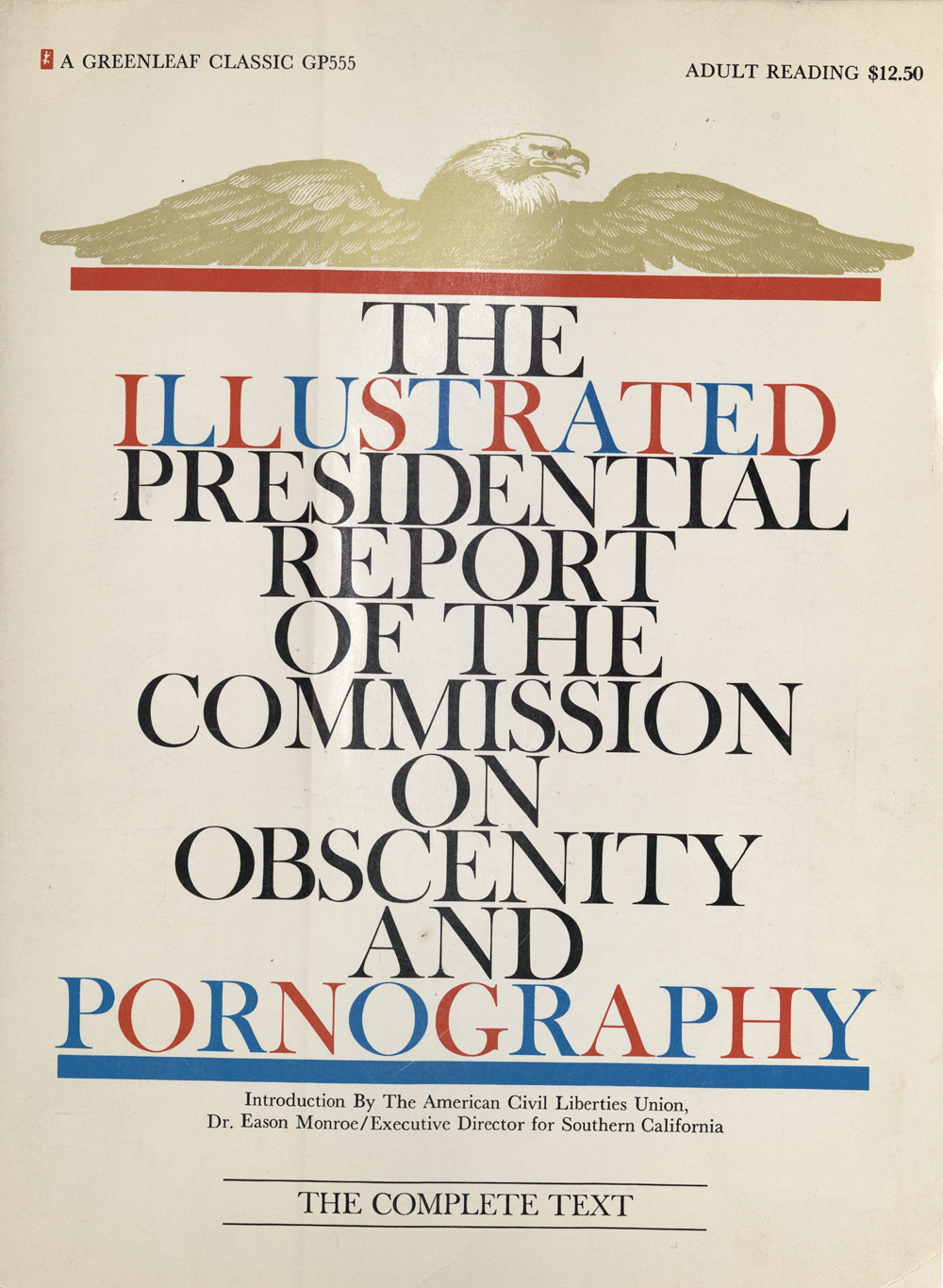 Commission illustrated obscenity pornography presidential report