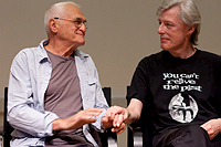 John Giorno and Ian MacFadyen
