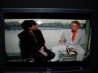 Terry Wilson and Brion Gysin on Monitor