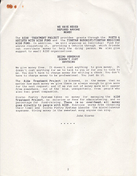 AIDS Treatment Project 1991 Annual Report 2