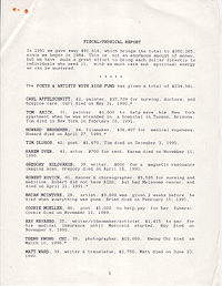 AIDS Treatment Project 1991 Annual Report 5
