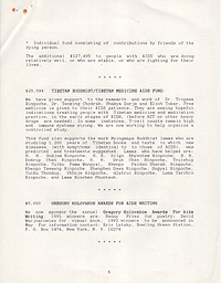 AIDS Treatment Project 1991 Annual Report 6
