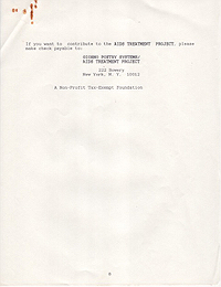 AIDS Treatment Project 1991 Annual Report 8