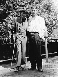 William Burroughs and Jurgen Ploog