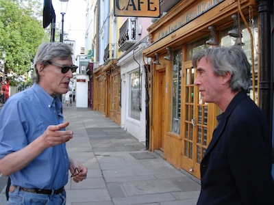 Ian MacFadyen and Terry Wilson, London, November 2010 (photo by Eric Andersen)