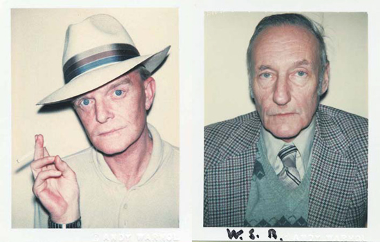 Andy Warhol, Polaroids of Truman Capote and William Burroughs