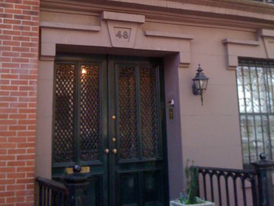 48 Morton Street, site of David Kammerer's apartment